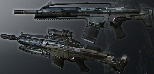 Crysis 2 assault rifles