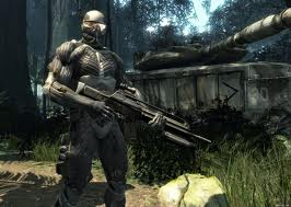 Crysis 2 nanosuit and weapon