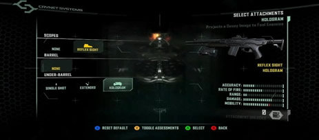 Crysis 2 weapon attachments
