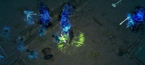 The Docks - Path of Exile Screenshot