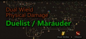 Dual Wield Physical Damage Duelist & Marauder Build