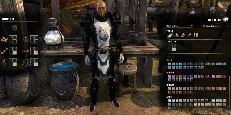 Armor Dyes in Elder Scrolls Online