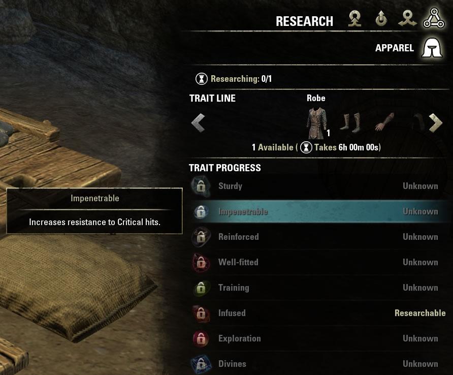 which traits to use in elder scrolls online