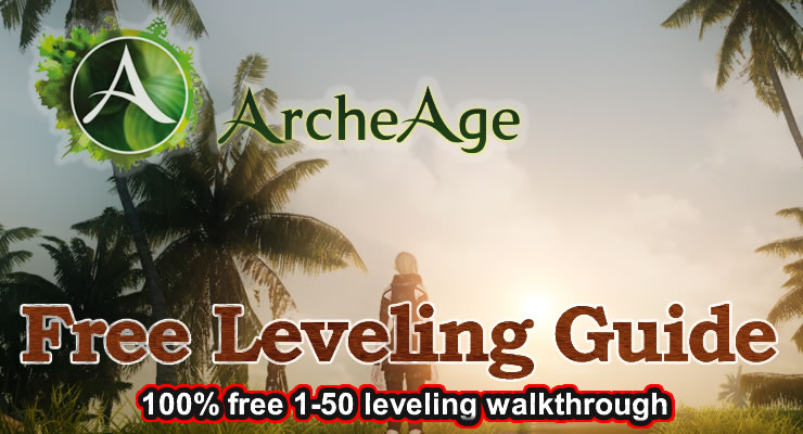 Free ArcheAge Leveling Guide