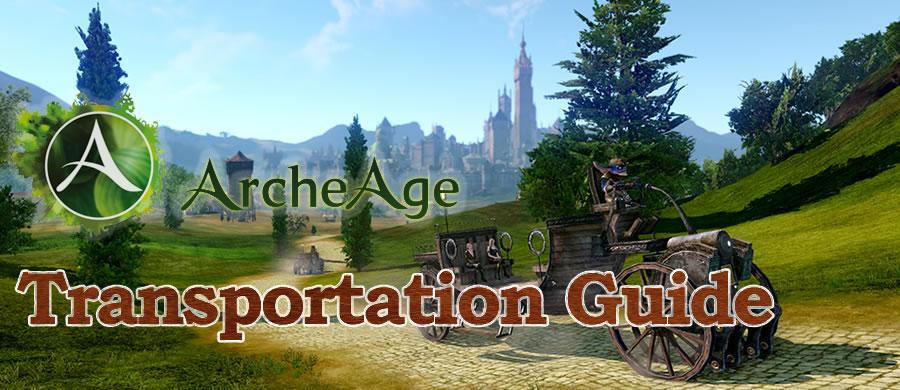 ArcheAge transportation guide