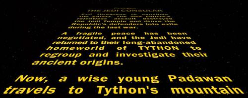 Jedi Consular Beginners Guide