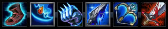 Blue Build Ezreal Items