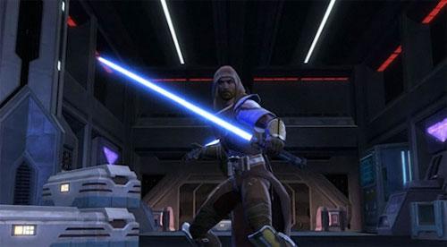 Jedi Knight with Lightsaber