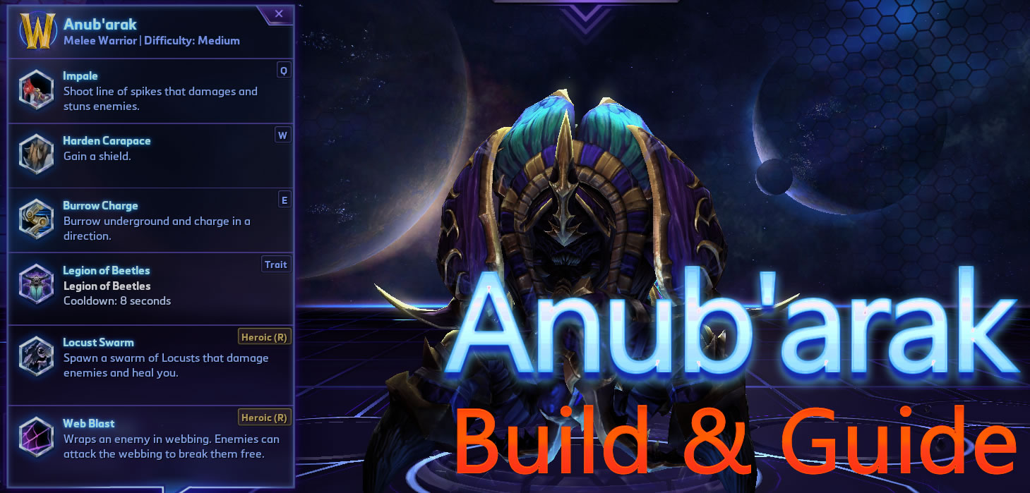BEETLE BUILD ANUBARAK - Heroes of the Storm (HotS ...