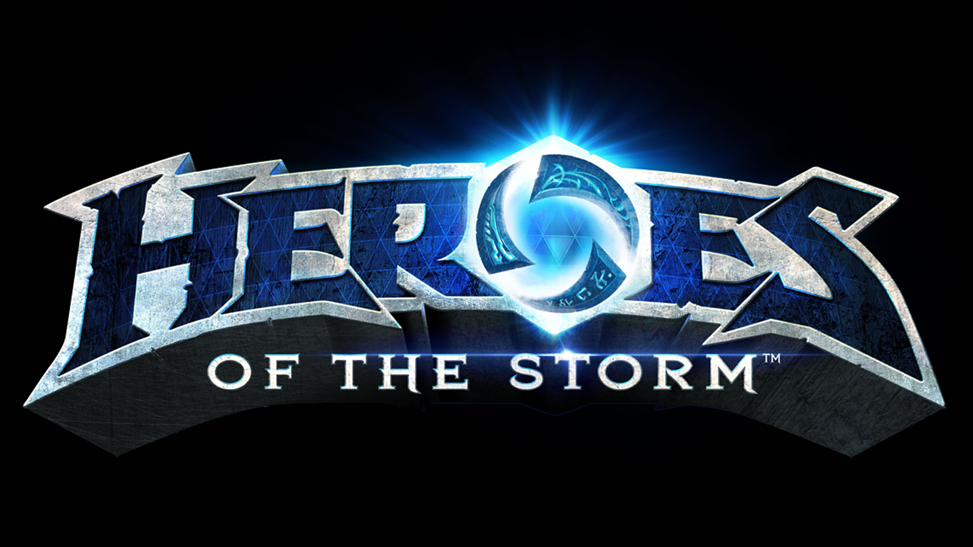 Heroes of the Storm logo wallpaper