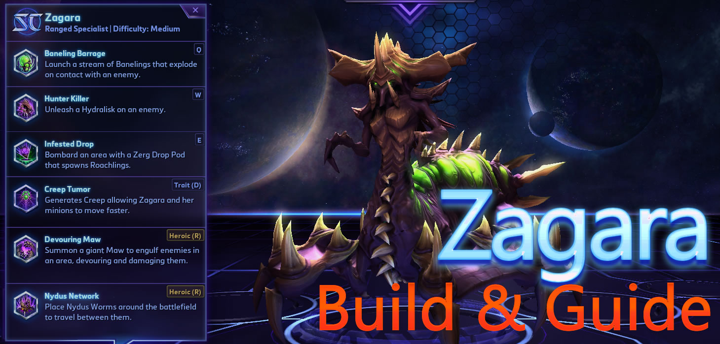 Heroes Of The Storm Zagara Build Guide Today, zagara will be taking the spotlight. heroes of the storm zagara build guide