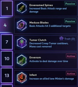 Zagara level 4 Talents