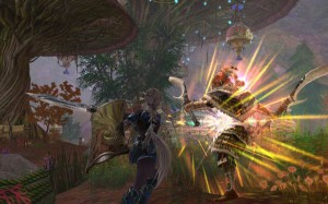 Darkfall magic combat