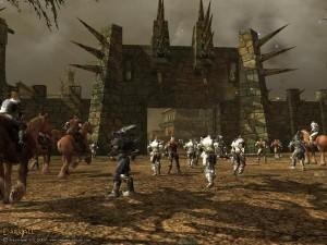 Darkfall siege combat