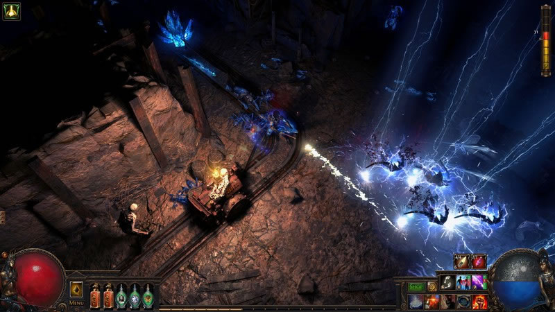 Path of Exile combat